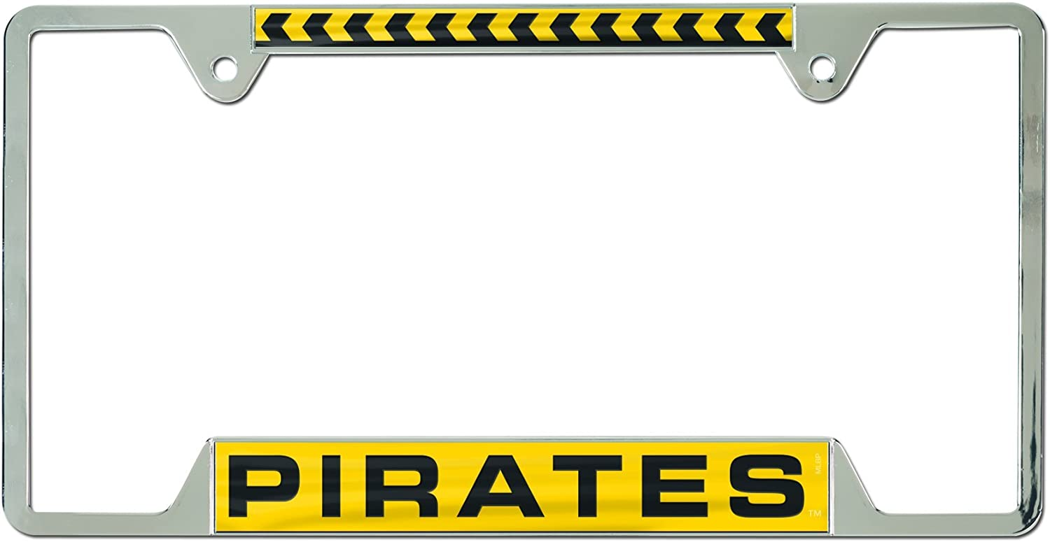 Metal with Inlaid Acrylic WinCraft Pittsburgh Penguins License Plate Frame 4 Mount Holes