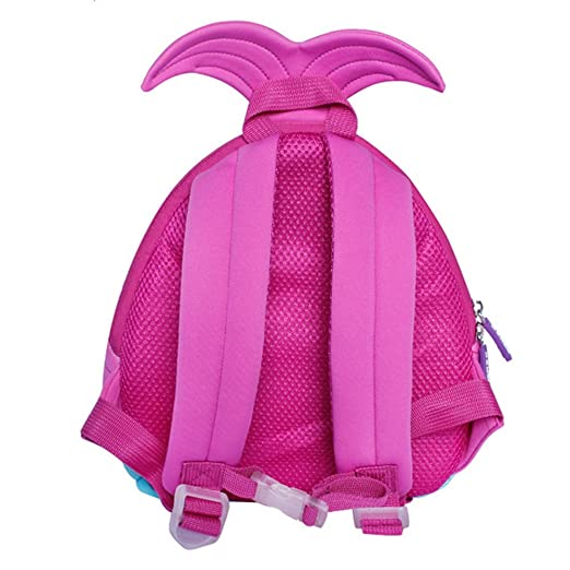 5ba49452e704 BINGONE Kids Backpack 3D Mermaid Princess Children School Travel Bags  Waterproof  Amazon.in  Bags