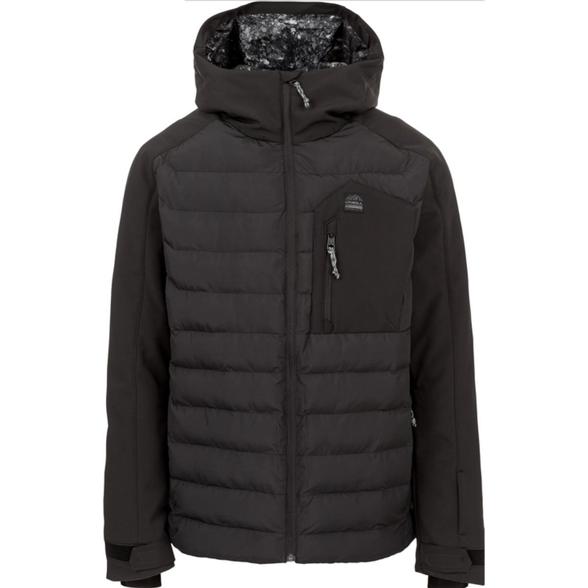 O'Neill Mens 37-N Jacket Black Out MD One Size