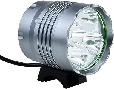tobole Set de luces para bicicleta linterna frontal luz delantera ...