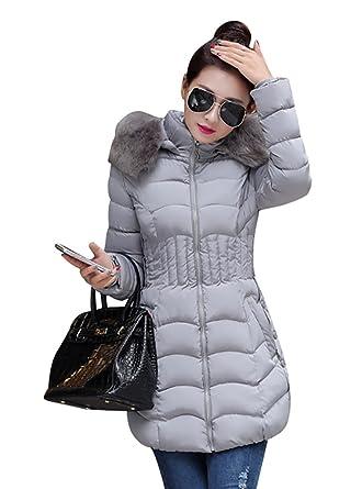 Manteau femme duvet capuche fourrure