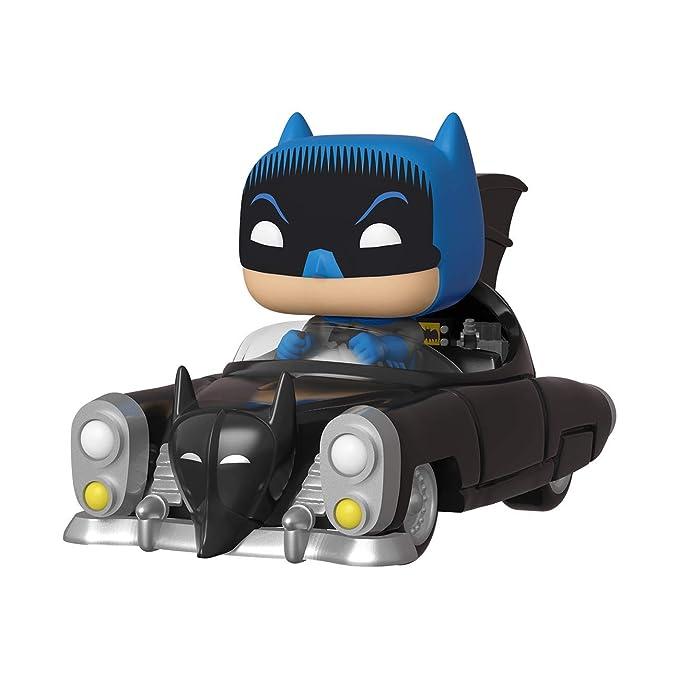 Funko- Pop Rides 80th: Batman (1950) Figura Coleccionable, Multicolor (37252)