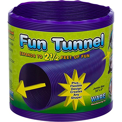 Ware Manufacturing Fun Tunnels Play Tube for Small Pets 61dY1Afbt1L