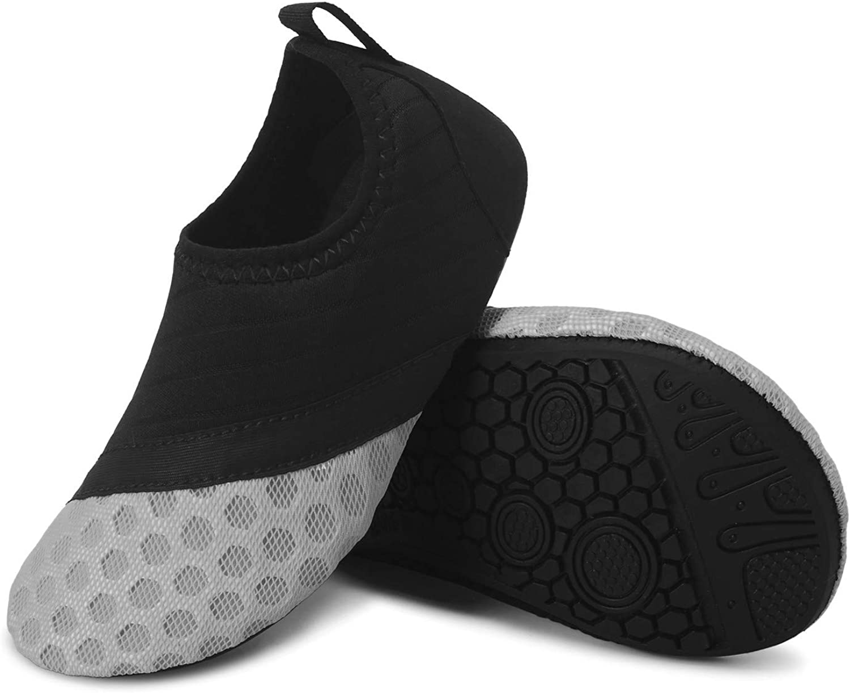 JIASUQI Calcetines deportivos de piel de agua para playa para unisex-ni/ños