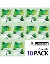 Collagen Facial Sheet Mask Pack (10 Sheets) Face Treatment...