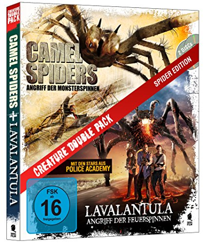 Creature Double Pack - Spider Edition: Camel Spiders & Lavalantula