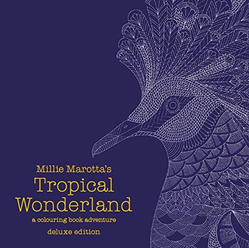 Millie Marottas Tropical Wonderland Deluxe Edition A Colouring Book Adventure Books Marotta 9781849943734 Amazon