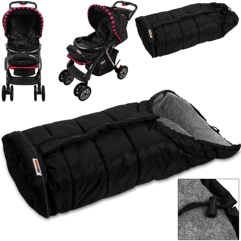 Deuba Baby Stroller Buggy Padded Footmuff Cosy Toes Universal Liner Warm Cosy - 40 Inches
