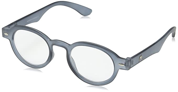 Montana MR92 Strength Plus 2.5 Black Reading Glasses