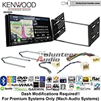 Volunteer Audio Kenwood Excelon DNX994S Double Din Radio Install Kit with GPS Navigation Apple CarPlay Android Auto Fits 2001-2004 Escape, 2000-2004 Excursion, 1999-2004 F-150, 2001-2003 Mustang