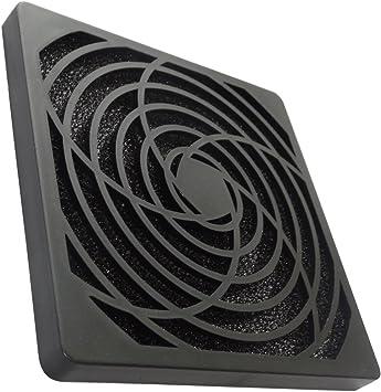 AERZETIX: Rejilla Negra de protección C15120 120x120mm ventilación ...