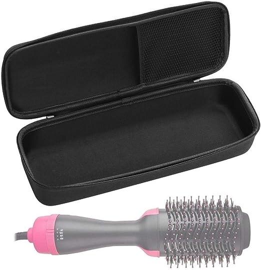 Estuche rígido para el cepillo del secador de pelo,caja de protección de viaje EVA para