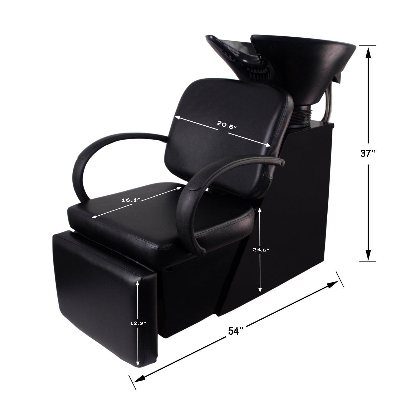 Amazon.com: Doitpower Adjustable Shampoo Chair Backwash Unit ...