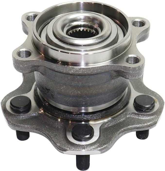 Front Wheel Hub and Bearing Assembly Compatible With 2007 08 09 10 11 2012 Nissan Sentra Engine:2.5L,L4 2008-2013 Rogue 2014-2015 Rogue Select AUQDD 513298 x2 Pair 5 Lug Hub
