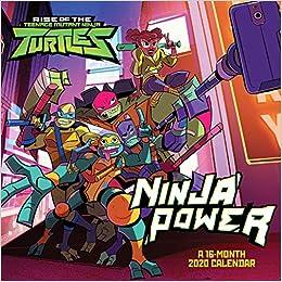 Teenage Mutant Ninja Turtles 2020 Wall Calendar: Trends ...