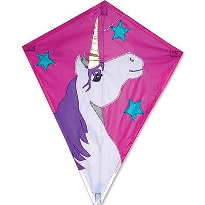 25 in. Diamond Kite - Lucky Unicorn: Toys & Games