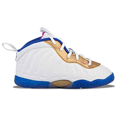 dbef08a09c9 Nike Kid s Little Posite TD White Fuchsia 723947-103 (Size  ...