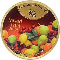 德国进口嘉云糖混合水果味什锦硬糖嘉云斯儿童喜糖果零食盒装 (热带什果味200g)
