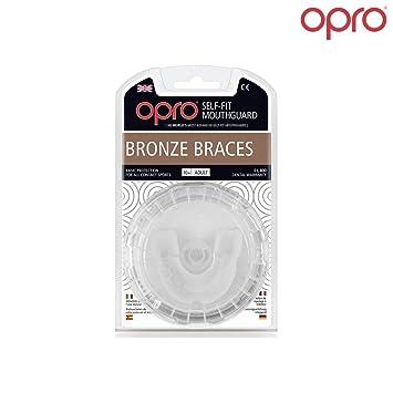 2c255d8727d81 OPRO Protège-dents Self Fit GEN3 Bronze Ortho Braces - Spécial Bagues  Dentaires / Auto