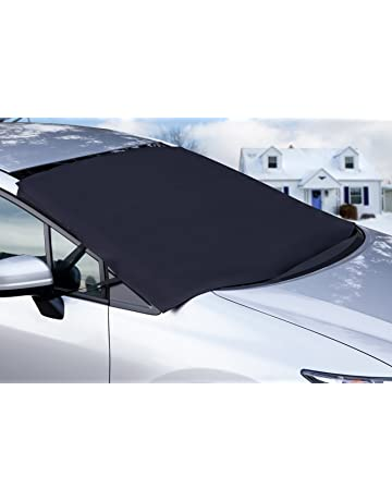 OxGord Windshield Snow Cover Ice Removal Wiper Visor Protector All Weather  Winter Summer Auto Sun Shade acd763f100a