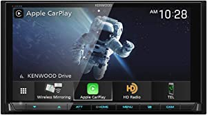 "Kenwood eXcelon Reference DMX957XR 6.8"" Digital Multimedia CarPlay Receiver"