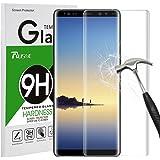 Galaxy Note 8 Pellicola Protettiva, Rusee Pellicola Protettiva in Vetro Temperato Protezione Dello Schermo Protettore Glass Screen Protector Film per Samsung Galaxy Note 8 - Alta Definizione
