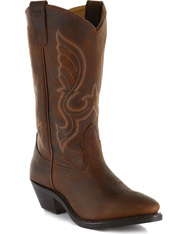 Shyanne Women's Women&Rsquo;S 11&Rdquo; Western Boot - Sy1419-R B07B649YTQ 7.5 B(M) US|Brown