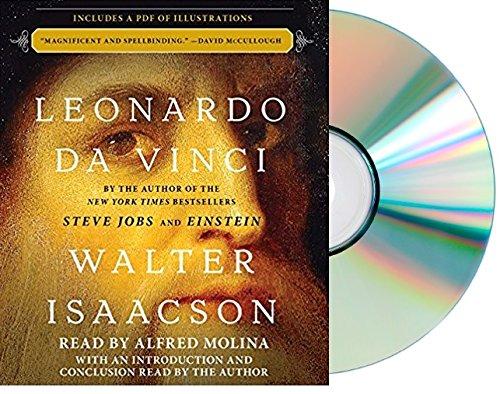 Leonardo Da Vinci Audiobook  By Walter Isaacson Leonardo Da Vinci Audio Cd