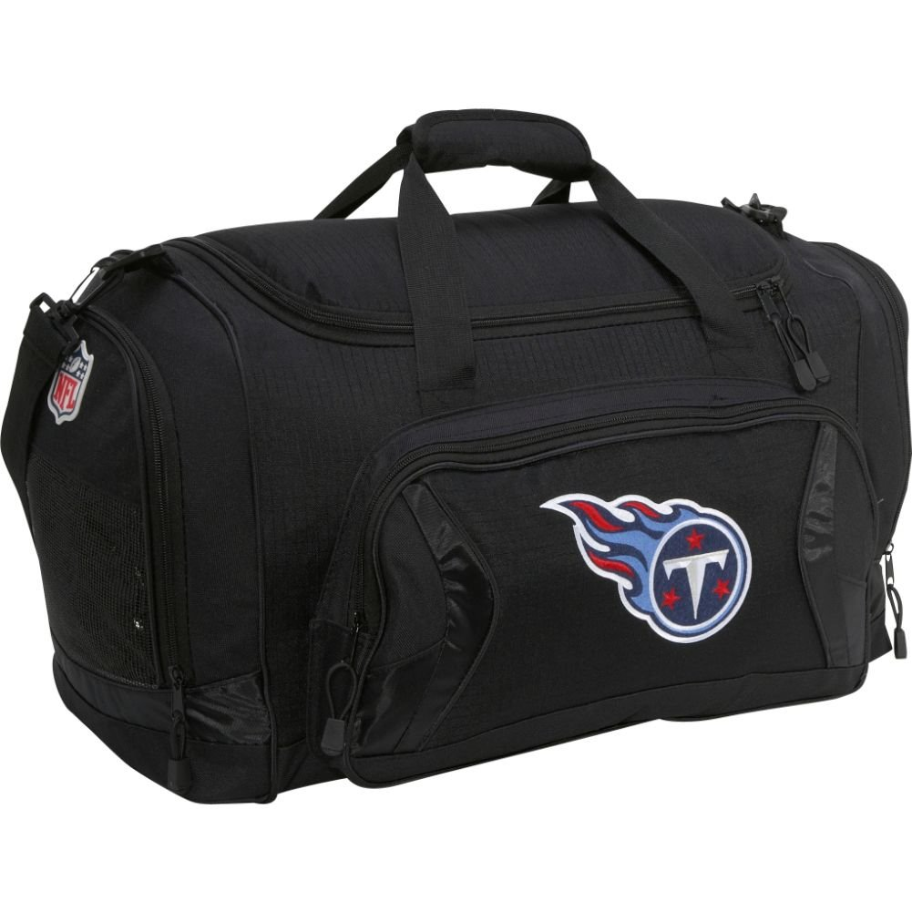 Concept One Tennessee Titans Flybyダッフルバッグ  Tennessee Titans/Black B003VO7BFO