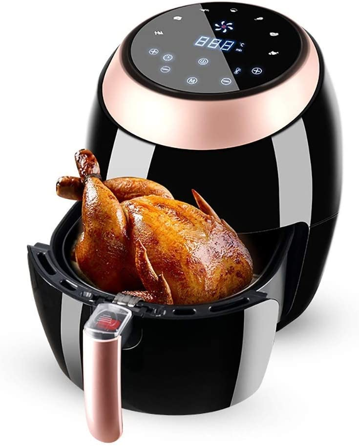 Air Fryers for Home Use Air FryerAir Fryers Oven RoastingBaking 1500W Air CookerSmart LED Touch ScreenNonstick Frying PotLarge Capacity Air Fryer Multi-Function Household MZXDX