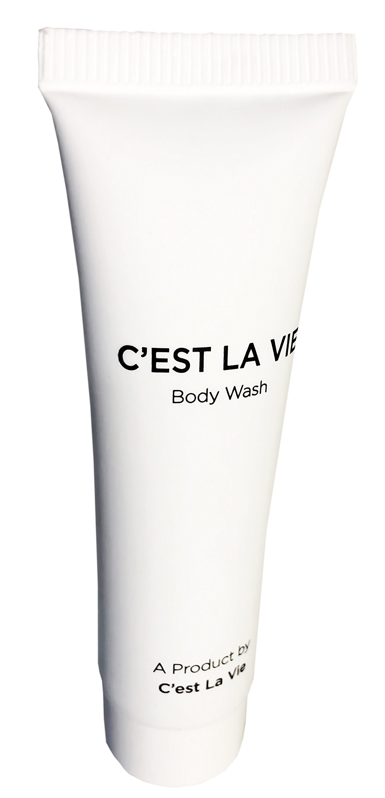 50 Bulk Pack - Fig & Olive Luxury Body Wash By C'EST LA VIE - 22ml / 0.75 fl oz - Travel Guest & Hotel Amenities - Individual Clean White Tubes in Eco Responsible Packaging. Paraben & Cruelty Free  by C'est La Vie (Image #2)