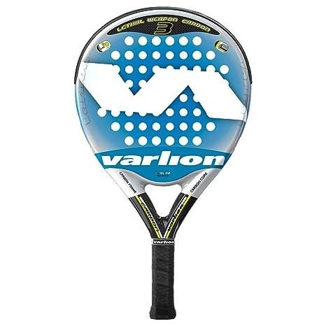 Varlion LW Carbon 3 Palas, Adultos Unisex, Azul, 365-370 gr ...