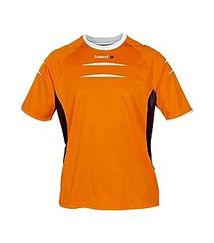 Luanvi - Camiseta m/c kenia sr, talla xxl, color naranja / antracita: Amazon.es: Deportes y aire libre