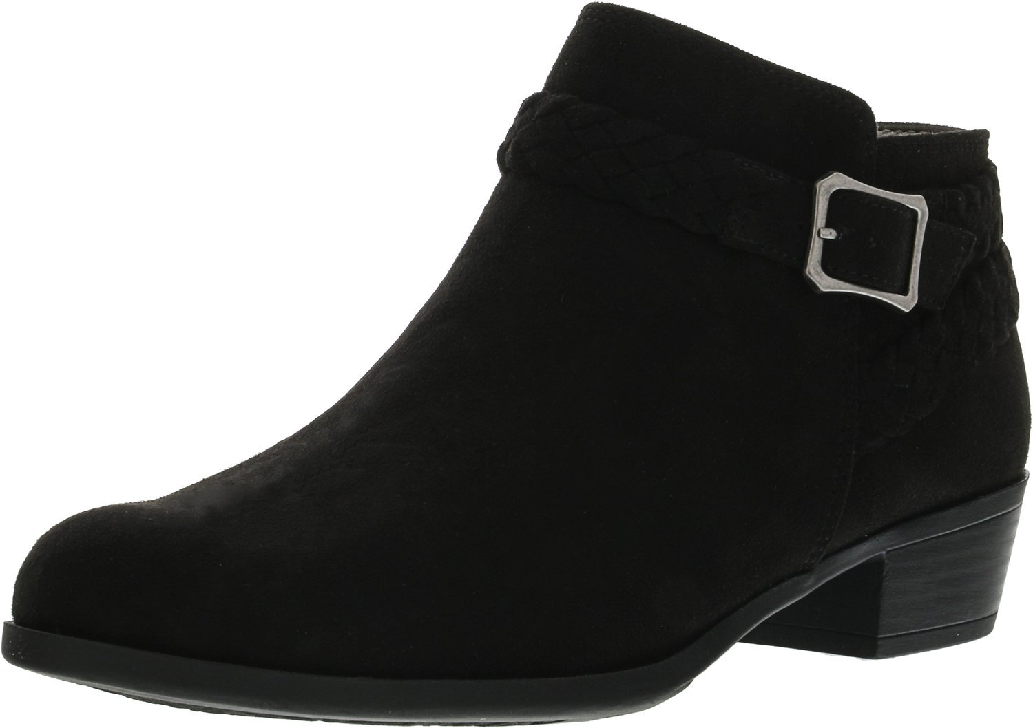 LifeStride Women's Adriana Ankle Bootie B075H31WLT 8.5 B(M) US|Black Micro