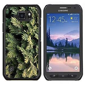 Stuss Case / Funda Carcasa protectora - Juniper Hojas Naturaleza Árbol - Samsung Galaxy S6 Active G890A