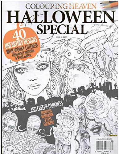 Colouring Heaven Halloween Special Magazine 2018 -