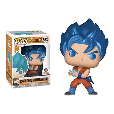 POP: Animation: Dragon Ball Super - SSGSS Goku (Kamehameha) Metallic: Toys & Games