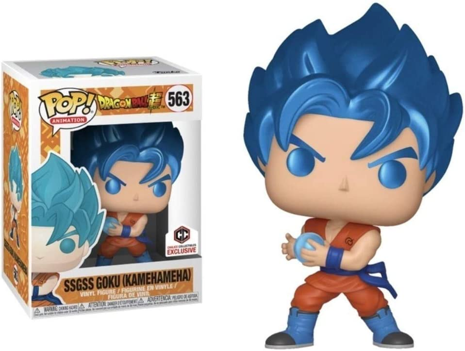 POP: Animation: Dragon Ball Super - SSGSS Goku (Kamehameha) Metallic