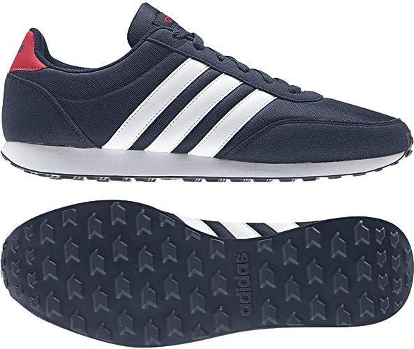 Cabecear Girar en descubierto Amante  adidas V RACER 2.0, Men's Fitness Shoes, Blue (MARUNI/FTWBLA/ESCARL 000),  5.5 UK (38 2/3 EU): Amazon.co.uk: Shoes & Bags