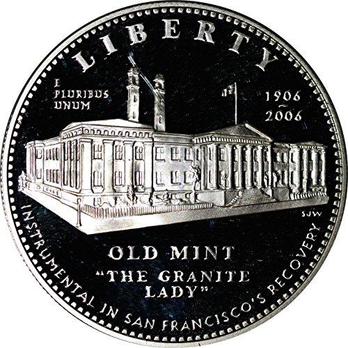 2006 Proof San Francisco Old Mint Commemorative Silver Dollar (San Francisco Old Mint Proof)