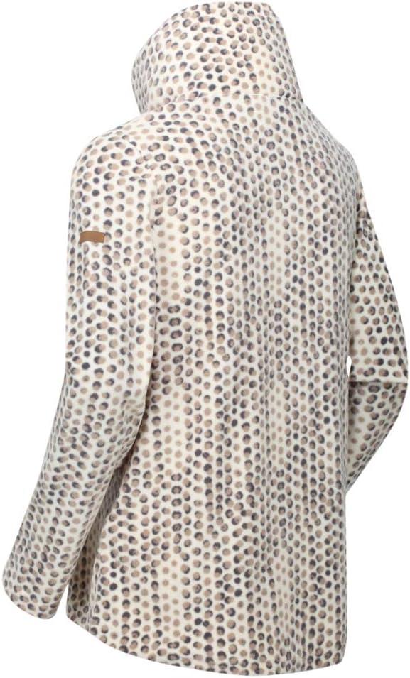 Regatta Womens Leela High Neck Half Zip Casual Fleece Jacket