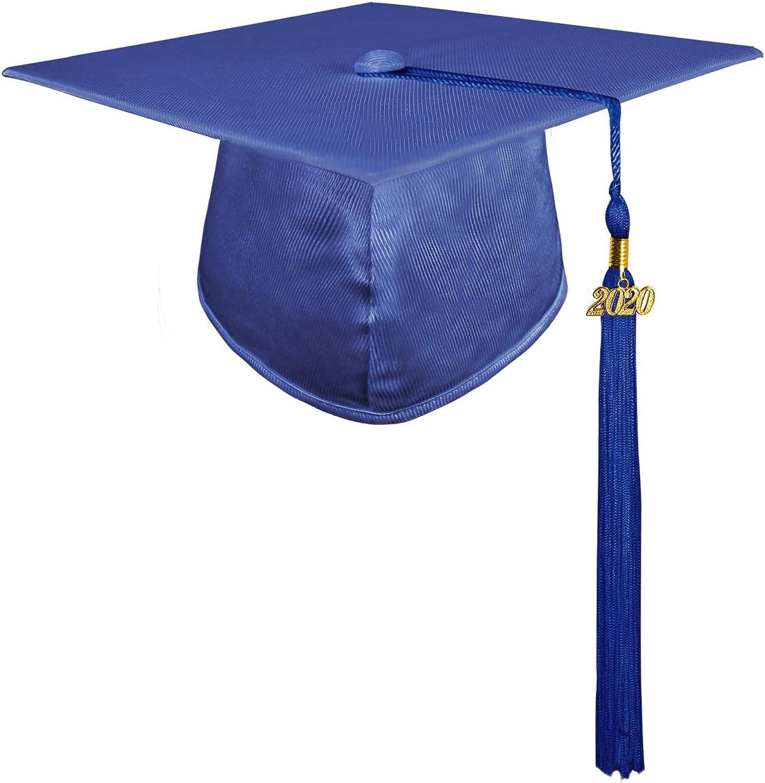 GraduatePro Birrete Graduacion Infantil 2020 Gorro Niño Niña Preescolar Disfraz Azul Real: Amazon.es: Ropa y accesorios