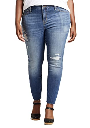 f066ba96ee04f Ava & Viv Women's Plus Size Skinny Power Stretch Jeggings - at Amazon  Women's Jeans store