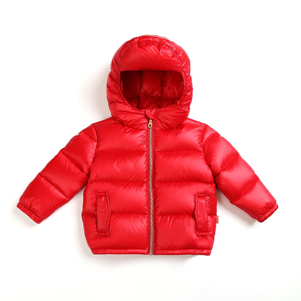 Nanny McPhee Kids Down Coat Unisex Baby Thicken Hooded Down Puffer Jacket Outwear (More Styles Available)