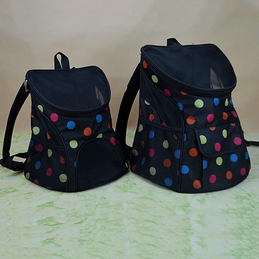 D 362740cm D 362740cm Large Pet Backpack Pet Out Carrying Bag Cat Bag Dog Bag Cat Dog Cage Pet Chest Bag Pet Backpack (color   D, Size   36  27  40cm)