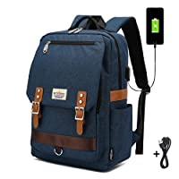 Schoolbag for Kids, Outdoor Bookbag with USB Charging Port for Boys Girls