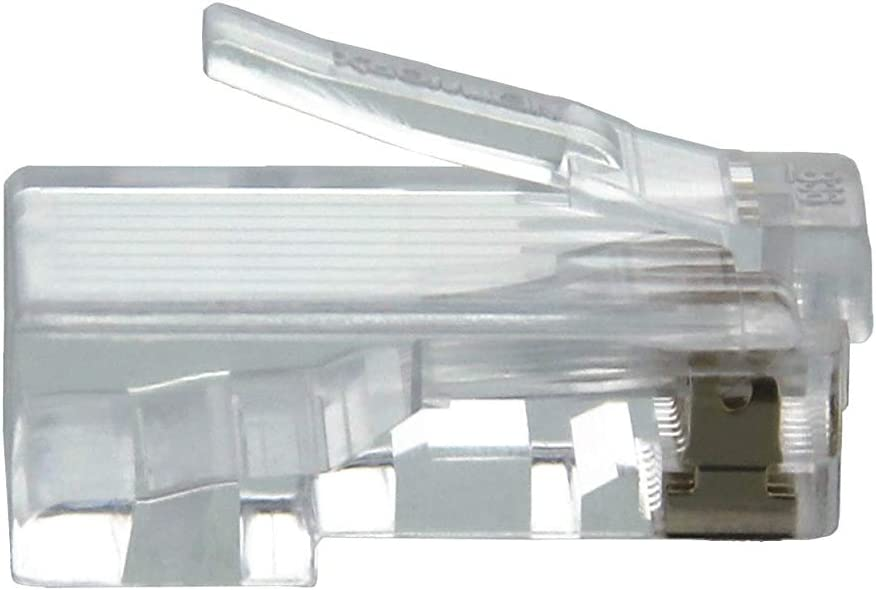 100 Pack Networx Cat6 RJ45 Modular Connector with Load Bars