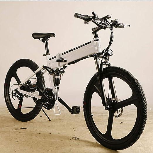 Jun Bicicleta eléctrica, Adulto Bicicleta eléctrica, 26 Pulgadas ...