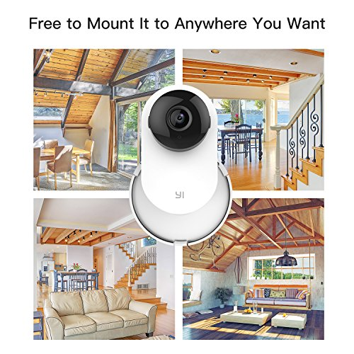 Kasmotion (Pack of 4) Yi Home Camera Mi Home Security Camera Wall Mount, 360 Degree Swivel Camera Bracket Holder Customized for Mi/Yi Home Security Camera by Kasmotion (Image #3)
