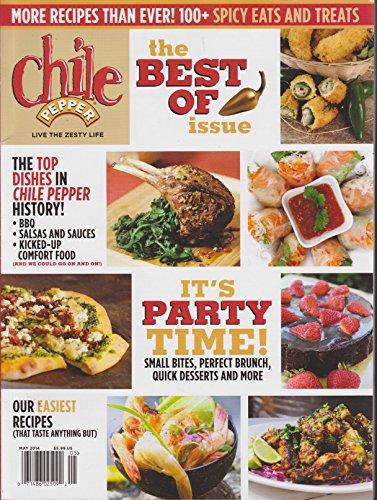 Chile Pepper Magazine May 2014